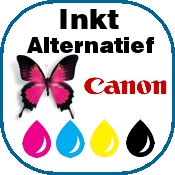 pictogram canon inkt sl bl